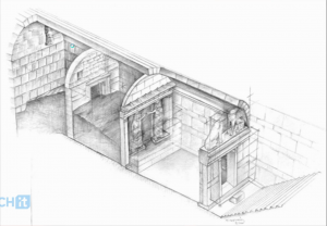 Tomb Sketch - 3 Chambers
