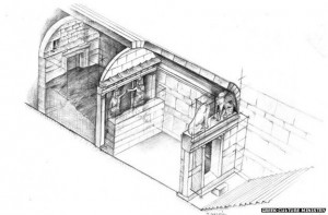 Tomb Sketch - 2 Chambers
