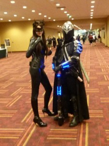 Catwoman and a Knight