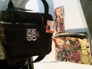 GenCon 2014 Bag & Badge