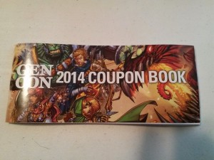 Coupon Book Closeup