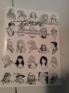 Elmore Character Clip Art