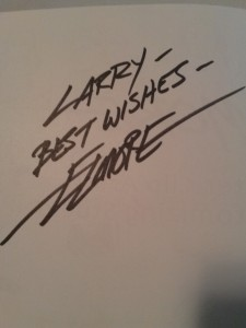 Larry Elmore Signed My Book