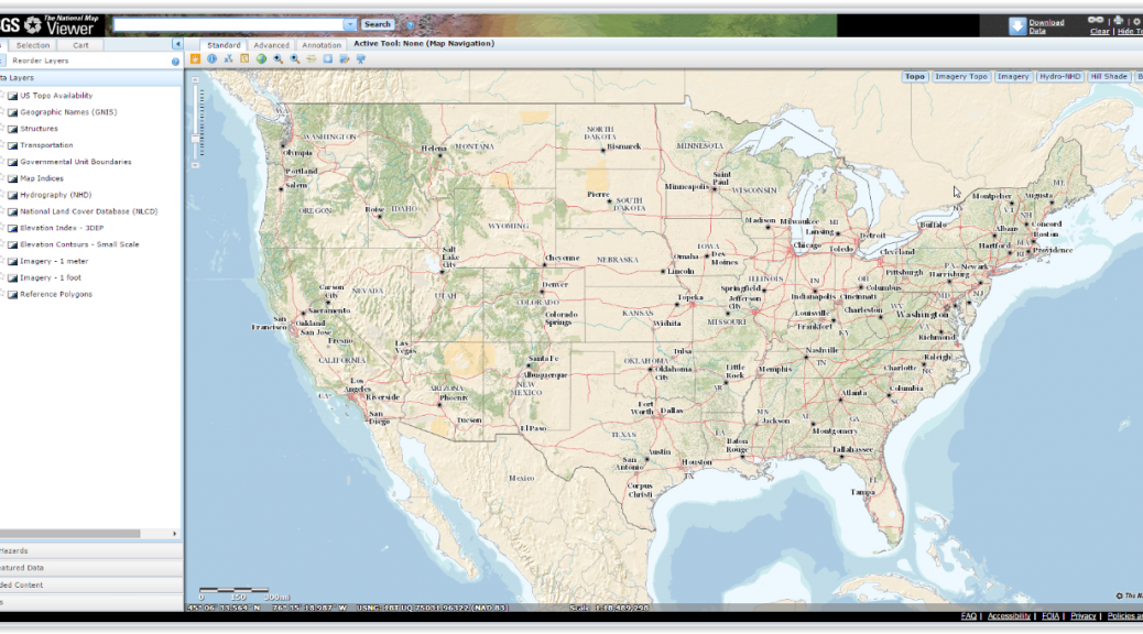 USGS Map Viewer