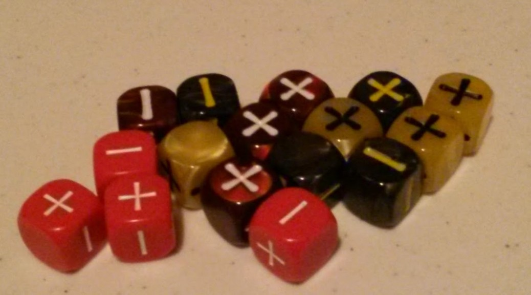 Fate/Fudge Dice