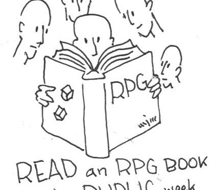READ AN RPG BOOK IN PUBLIC WEEK – 2015 – September 27th – October 3rd, 2015