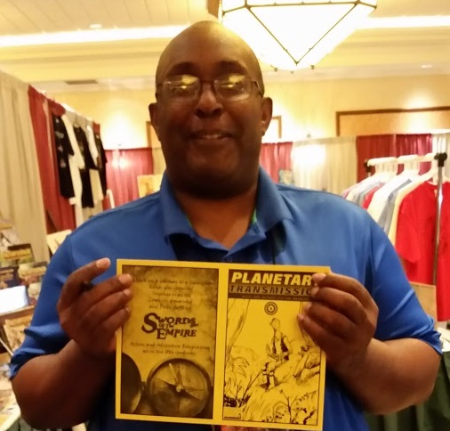 Mark Hunt With Planetary Transmission at GaryCon 8 - 2016