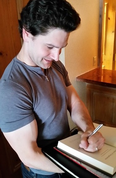 Michael Witwer Signing My Copy Of Empire of Imagination