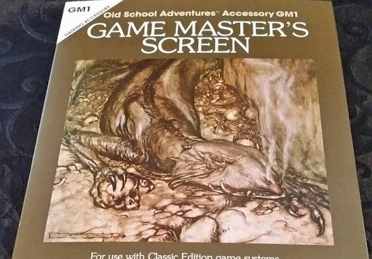 New Big Dragon GM Screen – Another Fulfilled Kickstarter