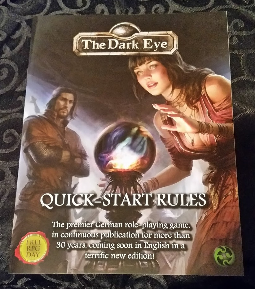 The Dark Eye Quickstart