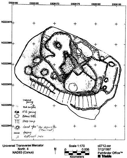 Archaeological Field Map