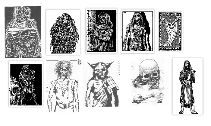 Fiend Folio & Monster Manual 2 Undead