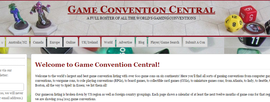 Game Convention Central