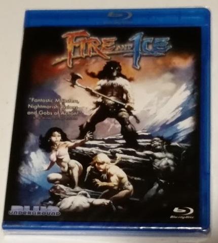 Fire & Ice Blu-Ray