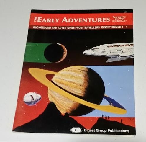 MegaTraeller Early Adventures
