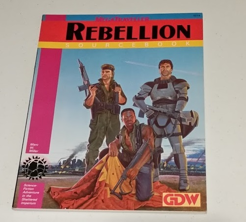 MegTraveller Rebellion
