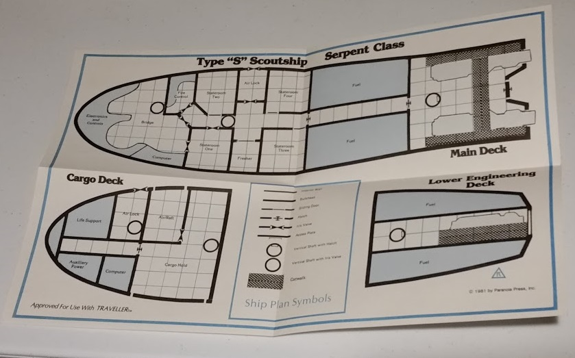 Scouts & Assassins Deck Plan