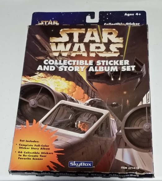 Star Wars Collectible Stickers
