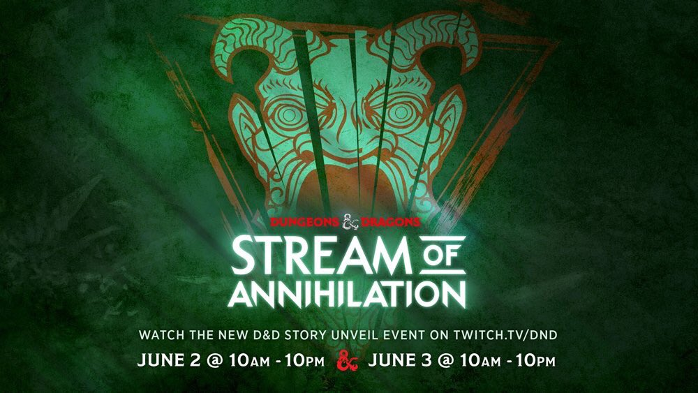 Stream of Annihilation