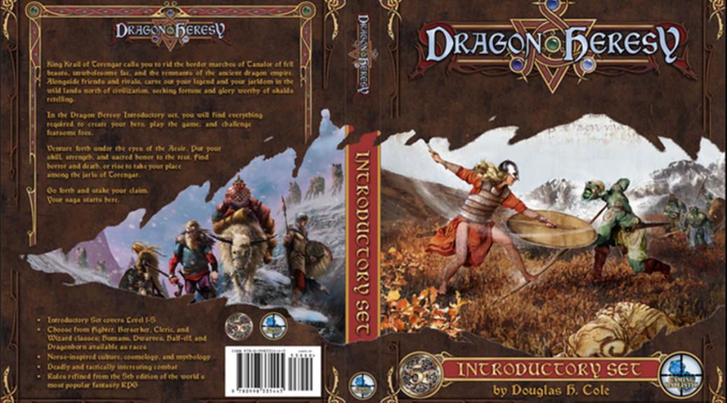 Dragon Heresy Introductory Set Kickstarter
