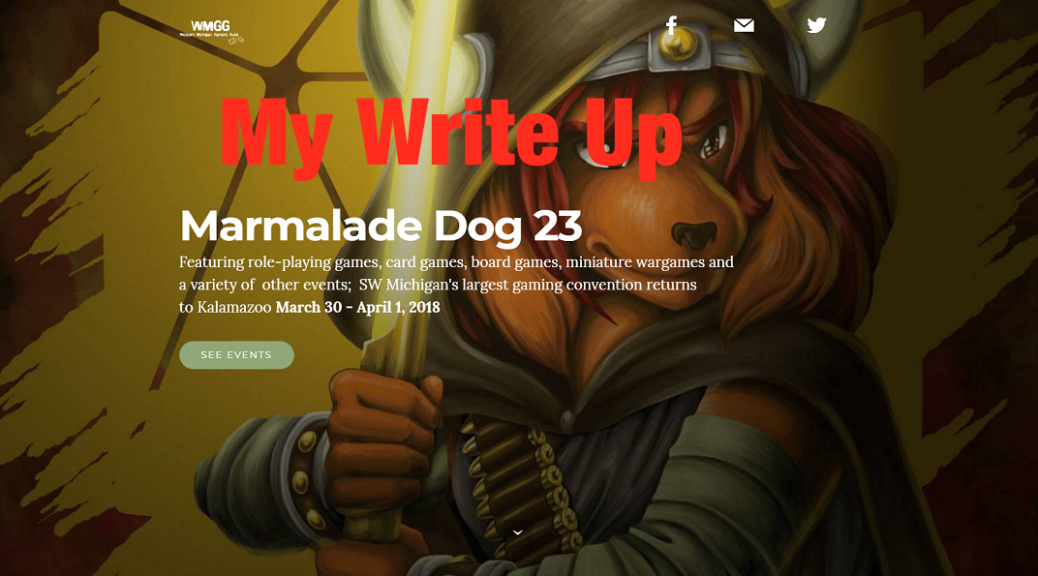 Marmalade Dog 23 Write Up